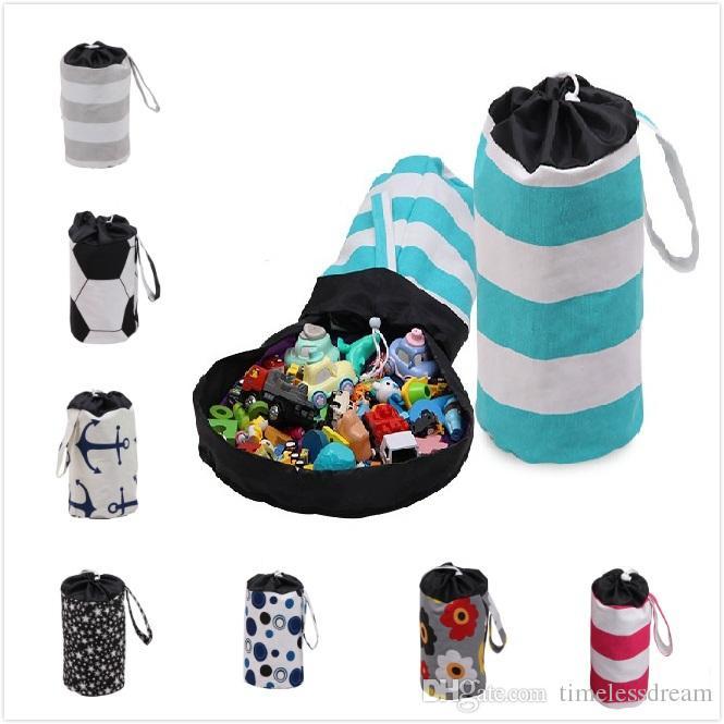 22 style storage bucket colorful magic storage bucket children toy storage basket children room organizer best gift for children
