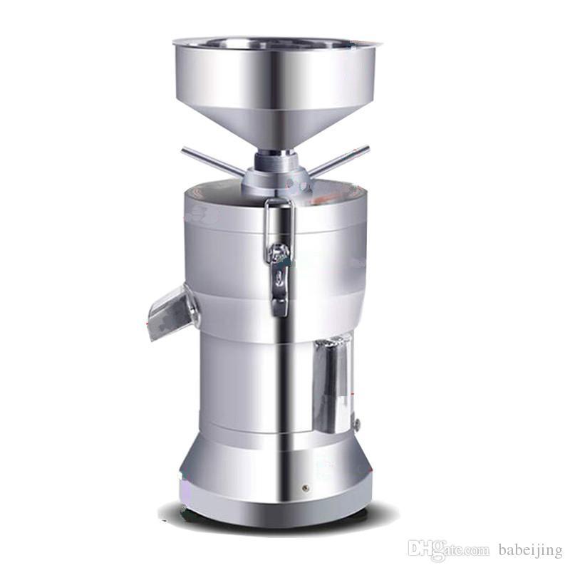 1100W Métier automatique de soja fabrication de machine de soja commerciale broyeur de soja en acier inoxydable soja-haricoter laitier