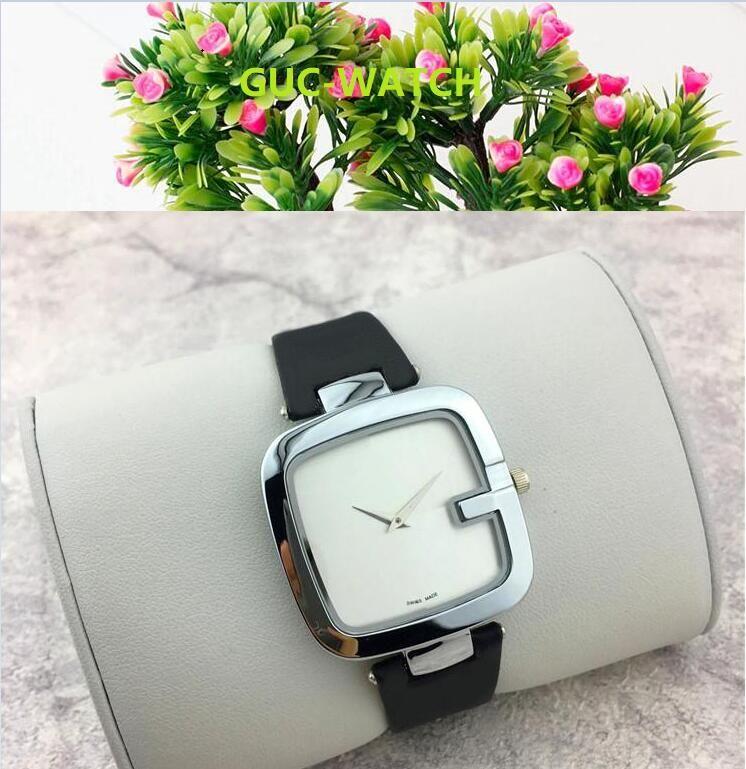 Neue einfache Art-Frauen-Uhr-Quadrat Lady Stahlkette Armbanduhr Luxus-Quarzuhr der Qualitäts-Freizeit-Mode-Designer-Uhr