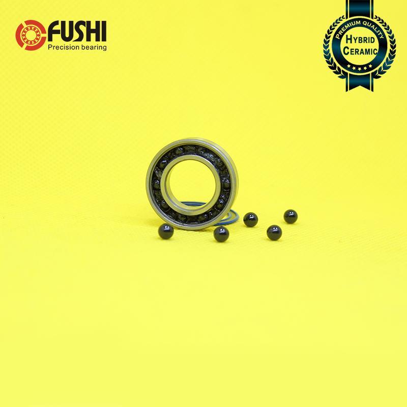6903-2RS HYBRID CERAMIC Si3N4 Ball Bearing 17x30x7 mm QTY 10 6903RS Black