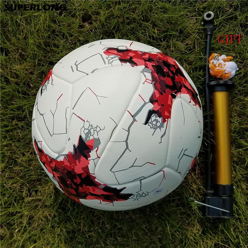 Горячие продажи Лиги чемпионов официальный размер 5 футбольный мяч материал PU профессиональный матч поезд прочный футбольный мяч футбол Futbol futebol
