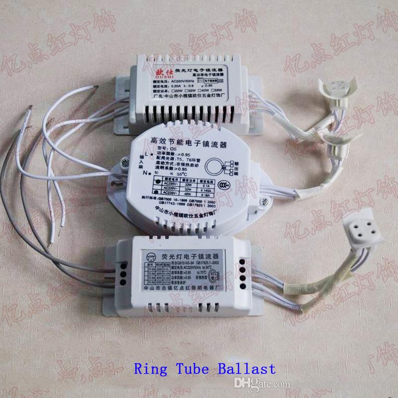 Ring Tubes Electronic Ballast T5 T6 22W 28W 32W 40W Universal Ballast for Round Fluorescent Tube
