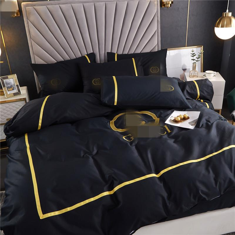 Wholesale Classic Bedding Cover New Arrivals Bedding Sets Cotton Summer High Quality Simple Bedding Sheets