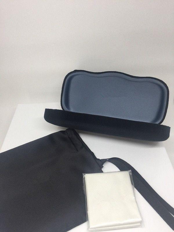 2019 NEW GLASSES BOXES CASE SUNGLASSES EYEGLASSES bag and case OPTICAL HARD BROWN CASE