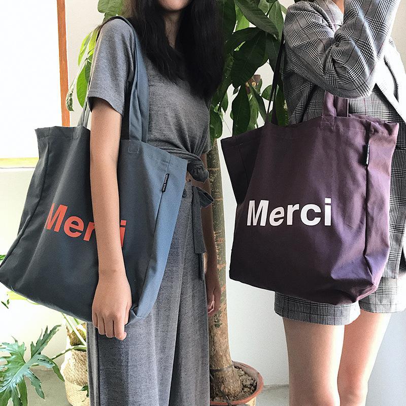 Женщины Большого Холст хозяйственная сумка Письмо Дополнительного Большой Tote Бакалея сумка Eco Environmental Shopper плечо Сумка для молодой девушки