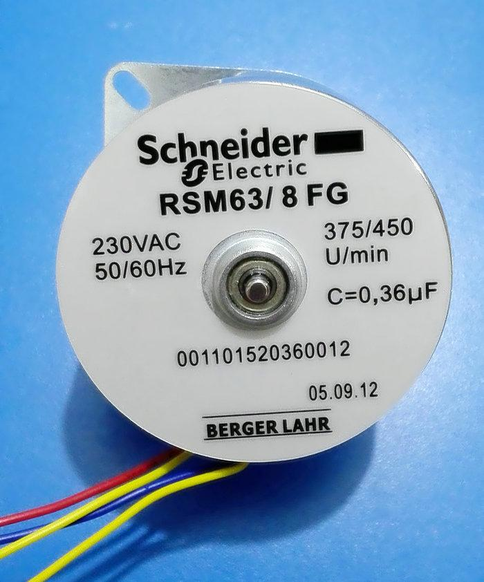 Rsm63//8fg motore sincrono Schneider Motore Berger Lahr MOTORE 230vac