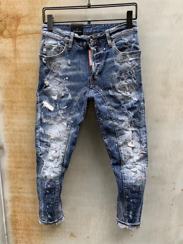 Compre Nuevos Pantalones Vaqueros Para Hombre Estilo Primavera Verano Moda Transpirable Ocio Jeans Para Hombre Denim Ultimo Modelo Suave Comodo Pantsat A 44 08 Del Kids Family08 Dhgate Com