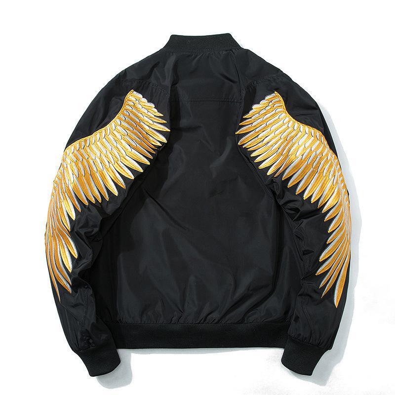 Para hombre 2020 de lujo de la ropa de moda Marca Imprimir bordado ocasional del deporte de gran tamaño béisbol Escudo del motorista chaqueta de bombardero chaquetas para los hombres