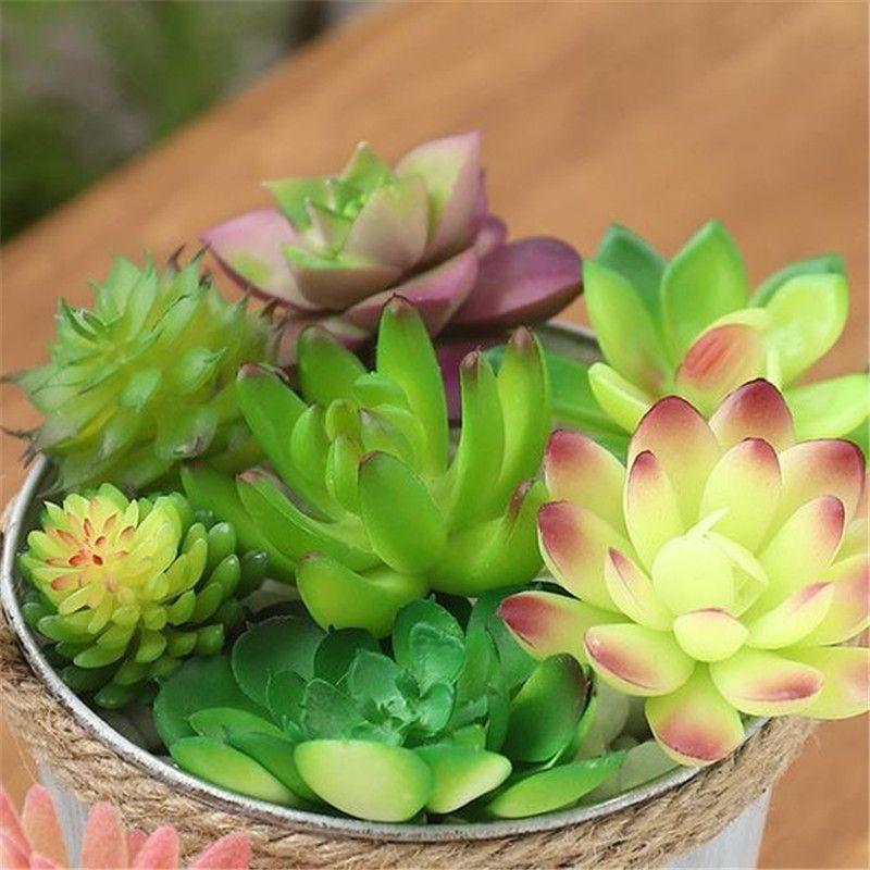 عصاري الاصطناعي النباتية وعاء لطيف زهرة الغراس الزهرية حيوانات جميلة ليتل المنزل والحديقة بونساي الأواني YQ01000