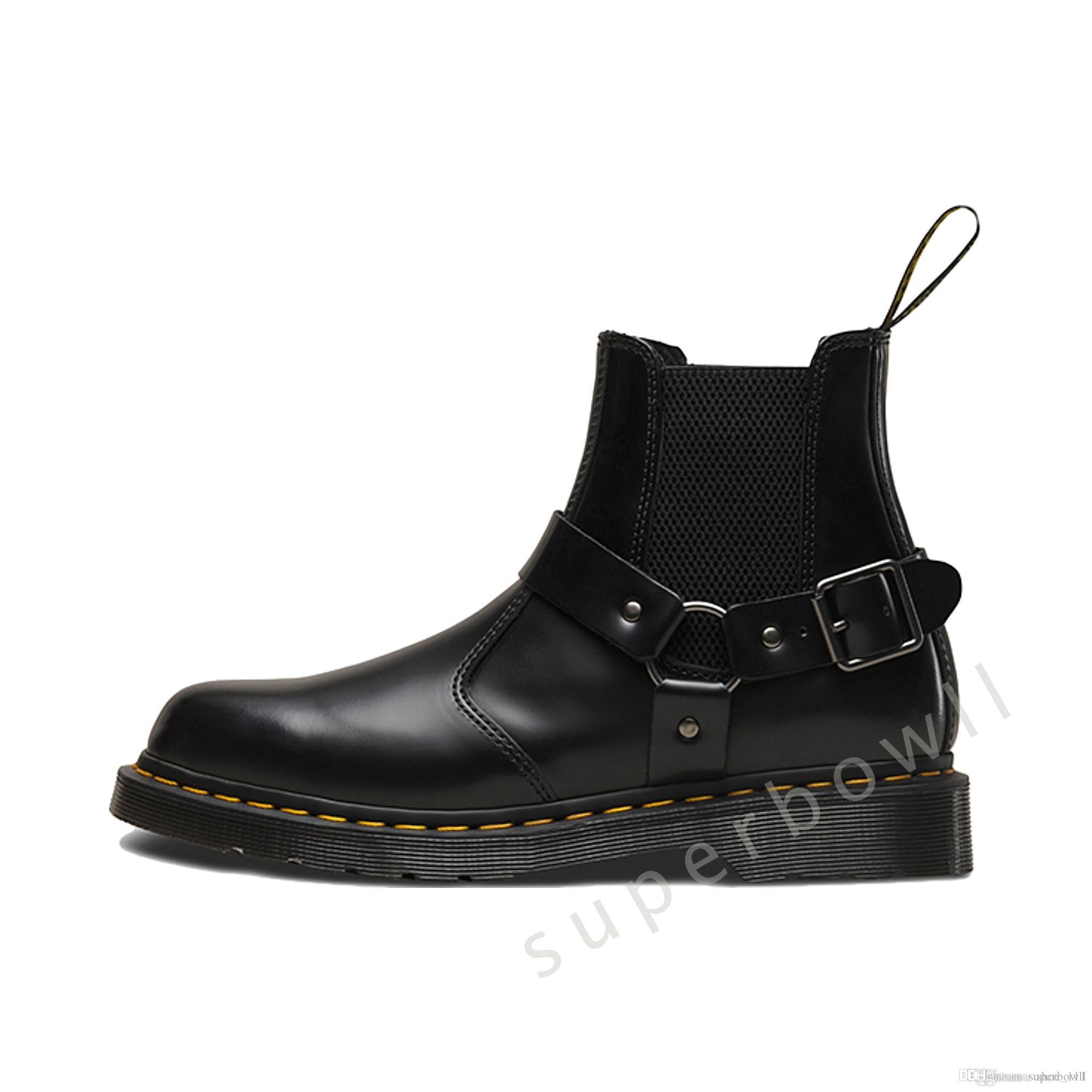 Top Quality Luxury Designer Women Boots Martins 2976 Woman Martin Boots Height Increasing Classic Boots Womens Shoes Black Casual Shoes
