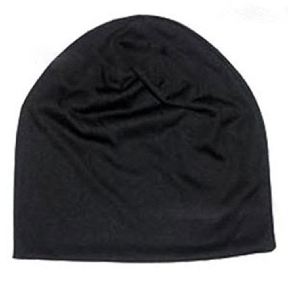 New Fashion Unisex Cappello lavorato a maglia Uomo Donna Colore puro Inverno Primavera Estate Autunno Cappello lavorato a maglia Casual Cappellino Hip-Hop senza maniche