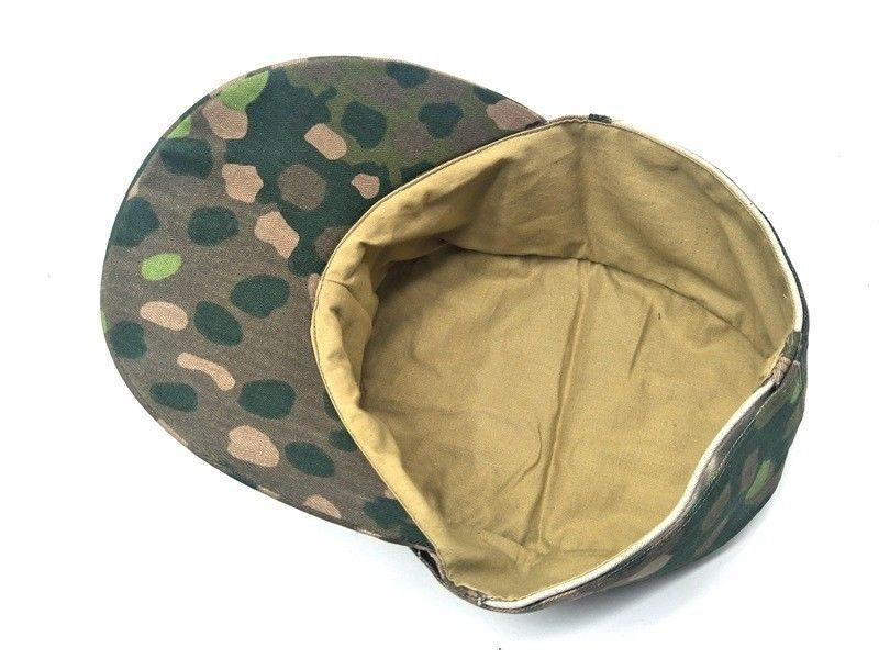 WWII WW2 GERMAN ARMY ELITE M43 DOT 44 HAT FIELD MILITARY CAMOUFLAGE CAP IN SIZES - World Military Store Outdoor Hats