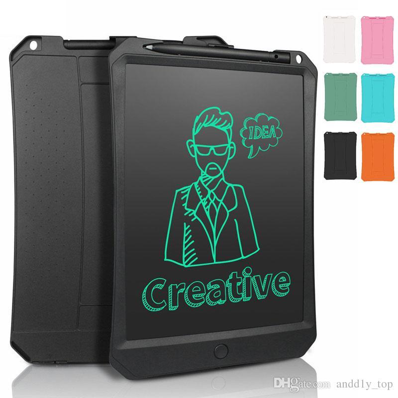 2019 10.5 11 بوصة رقيقة رسم اللوحي الأطفال الرقمية رسم خط اليد وسادة الالكترونية LCD الكتابة رسم الكتابة على الجدران لعبة هدية مع القلم