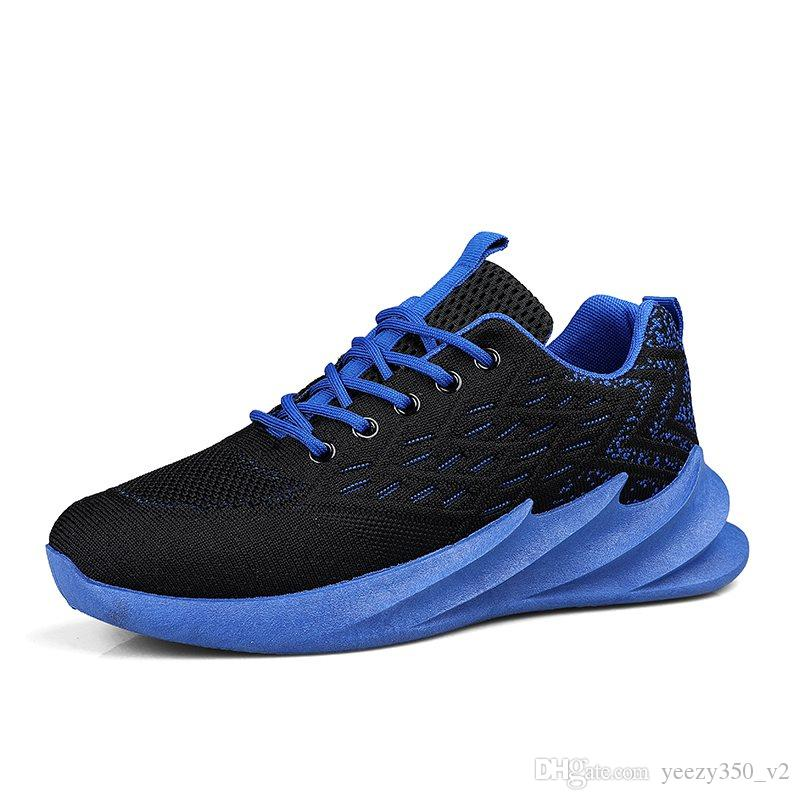 Hot Sale Fashion Men Shoes Mesh Breathable Sneakers Walking Male Footwear New Comfortable Lightweight Running Shoes C-200301134