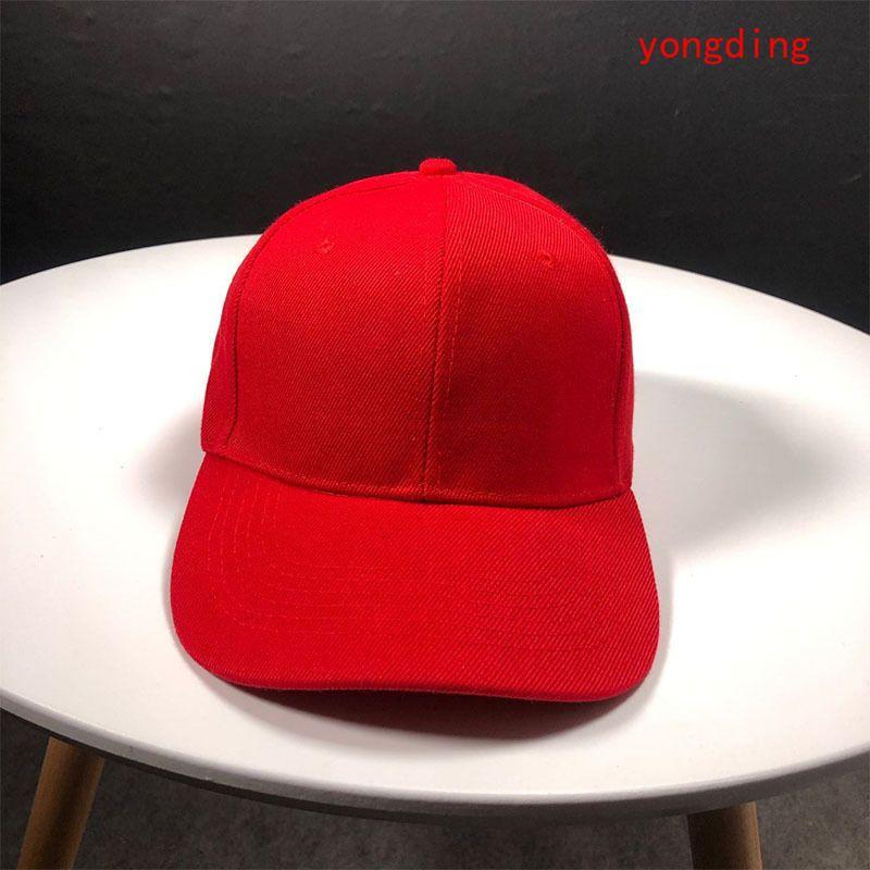 2020 новое поступление пустой папа шляпа Мужчины Женщины мода бейсболка регулируемая хип-хоп Snapback Cap шляпы черный розовый белый синий B13101