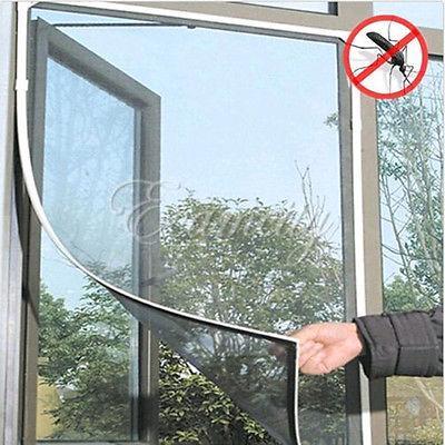 New Anti-insectes mouche Bug moustiques porte fenêtre voilage Mesh Screen Protector