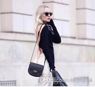 Shoulder Bags Cross Body Totes 88048 19cm1 saddle handbags brand fashion luxury designer famous women shoulder designer cowhide real leather