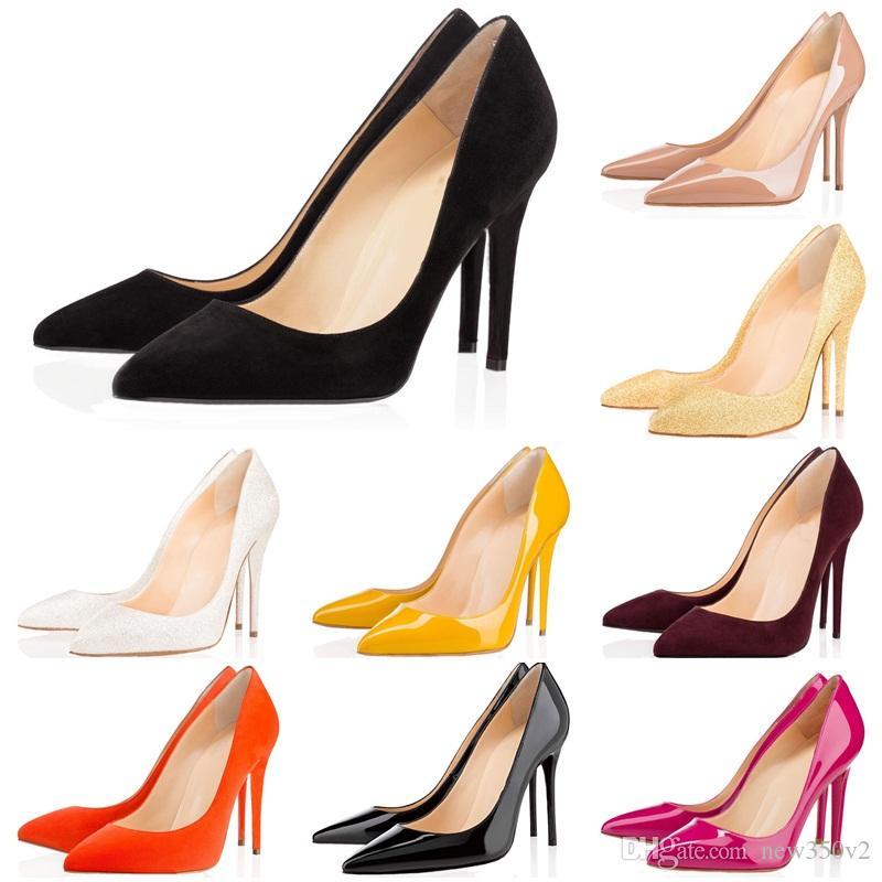 Fashion Heels Rivets TOP Luxury