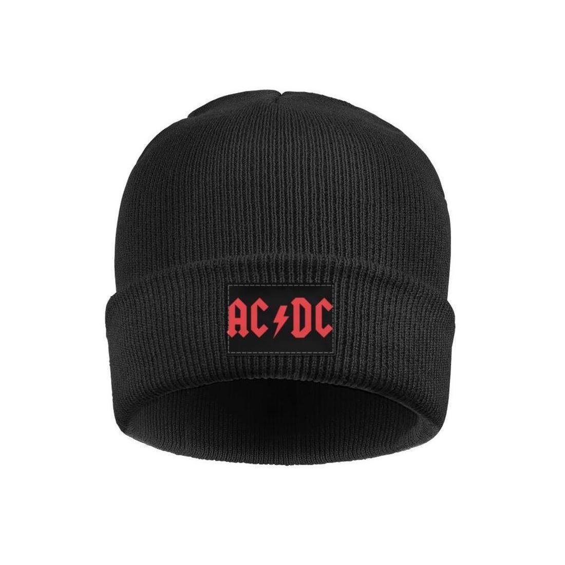 Mode AC-DC-Winter-Ski-Hüte Vintage ACDC ac dc vom Blitz getroffen einfaches Logo kühle australische Hardrock-Band AC-Alben-DC-Band-Est