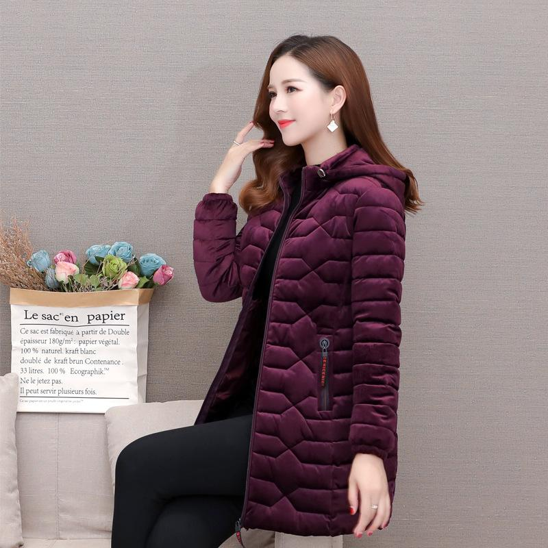 High quality cotton clothes,Korean Version of Cotton-padded Jacket for Middle-aged and Elderly People