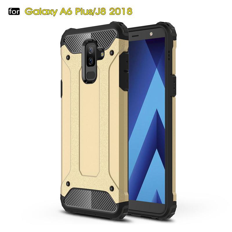 Di alta qualità Un caso +++ per Samsung Galaxy J4 e J6 Primer J2 Nucleo J8 J7 J7 J5 J3 ibrida blindato Telo copriveicolo SGP
