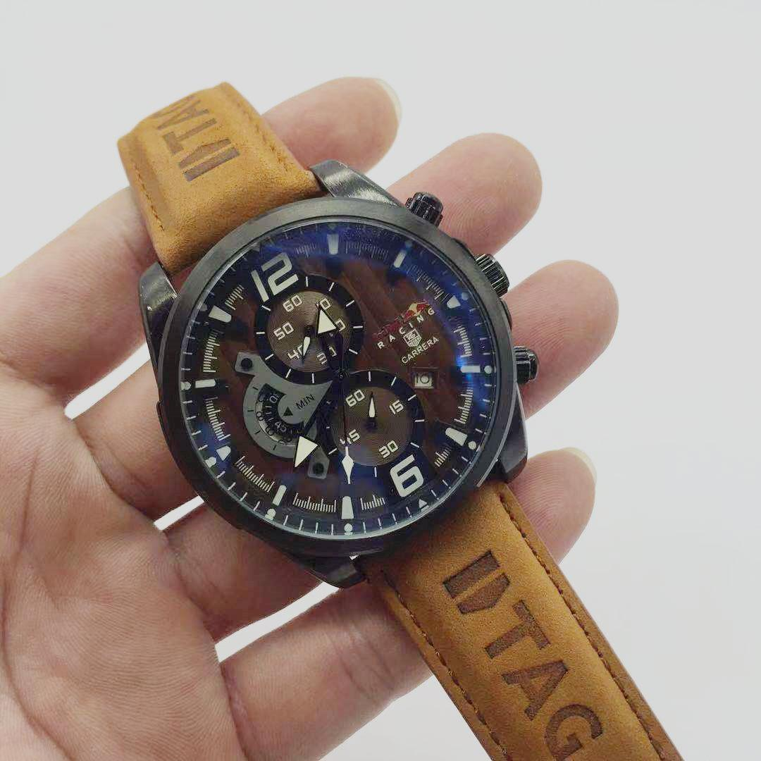 Nouvelles montres hommes montres copie de la marque de montres de luxe en cuir montre à quartz hommes montre de mode orologio uomo homme reloj hombre montre