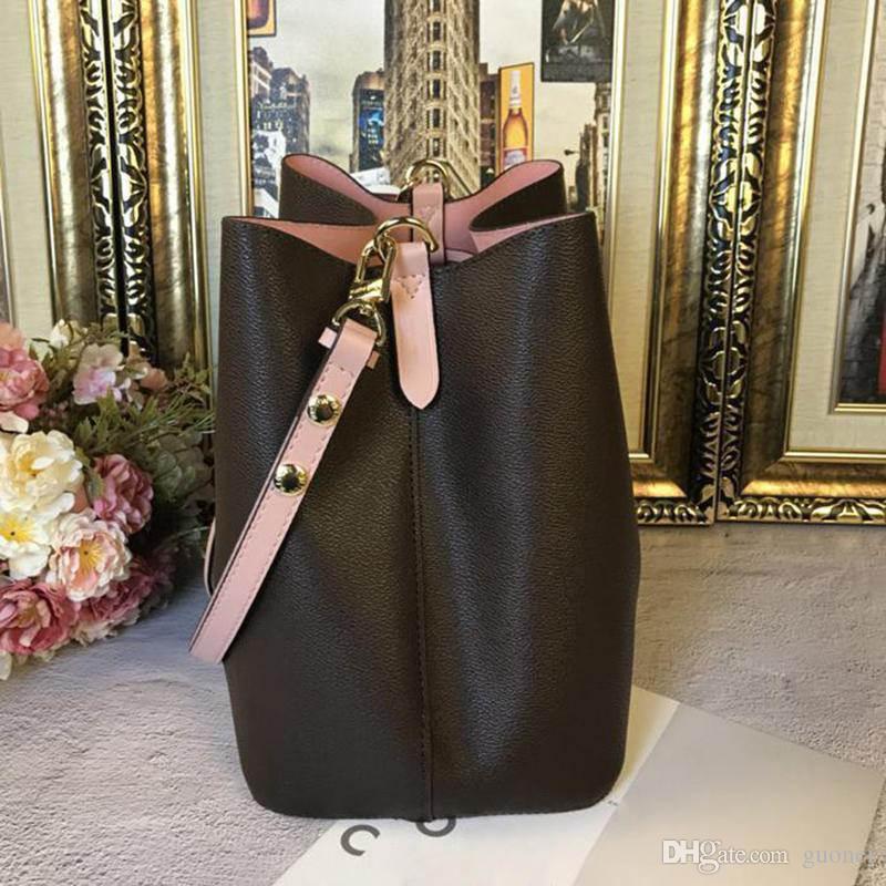 Designer-bolsas bolsas Marca 2019 saco novo balde de moda NONOE ombro de couro original bolsas de embreagem saco sacos messenger crossbody