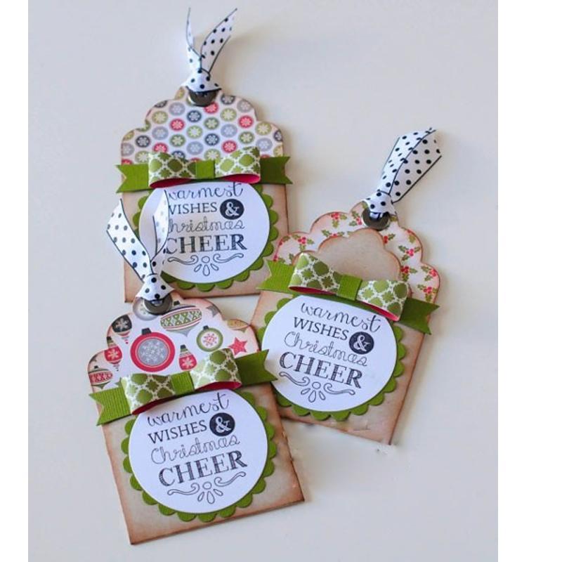 Cartão de nota de rótulos forma de corte de Metal morre Stencil para Scrapbooking Embossing DIY cartão de papel que faz artesanato decoração modelos