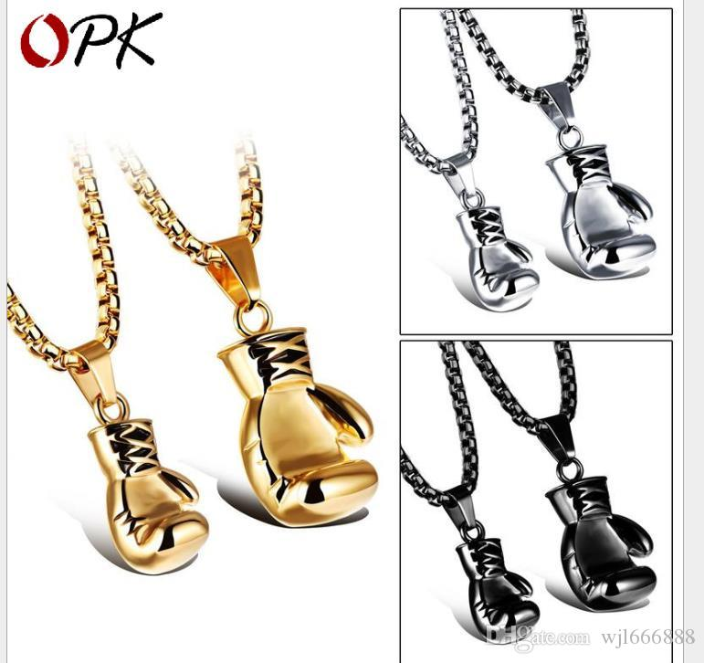 Fist pendant solid lover clavicle decoration hegemony Necklace Festival gift