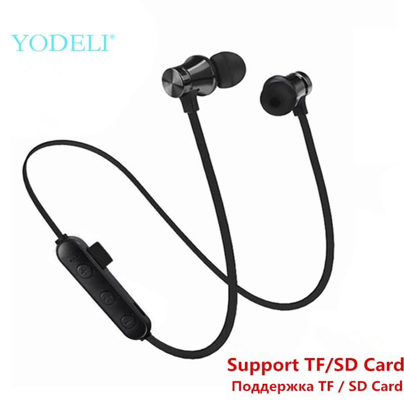 Best Bluetooth Earbuds Sport Wireless Headphones Stereo Bass Bluetooth Earphone Headset With Mic Support Tfsd Card For Phone Noise Canceling Headphones Over The Ear Headphones From Satan77825 12 24 Dhgate Com