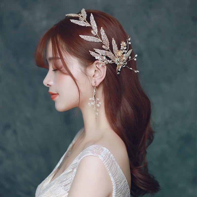 Women/'s Jewelry Gifts Crystal Rhinestone Faux Pearl Headband Head Hair Band