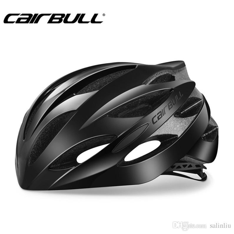 CAIRBULL دراجة دراجة الطريق خوذة المهنية خفيفة الدراجات السلامة خوذة الدراجات مصبوب متكامل كاب M L الحجم