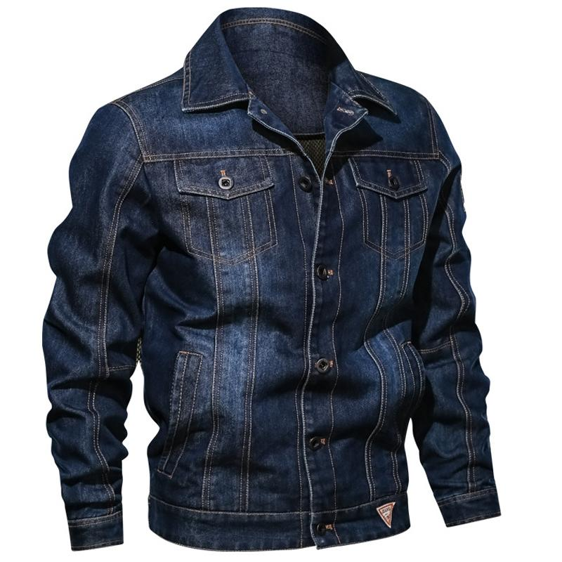 2020 nuovi arrivi denim Giubbotti da uomo Vintage Plus Size 5XL 6XL Mens Jeans Giacche Cappotti personalità degli uomini Bomber A620
