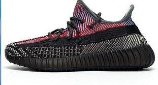 Канье Yereel Ешая Yecheil цитрин статические 3M отражательный черный красный классический удобную кроссовки цитрин Yeehu Yeezreel гиперпространство спортивные кроссовки