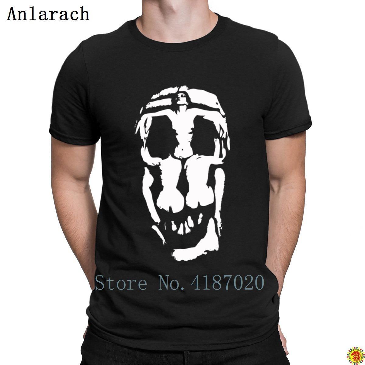 Shirt T Dali teschio gotico grunge Pietra T shirt Confortevole Stampa Pazzo elegante uomini di stile dell'annata di estate del breve costume manica