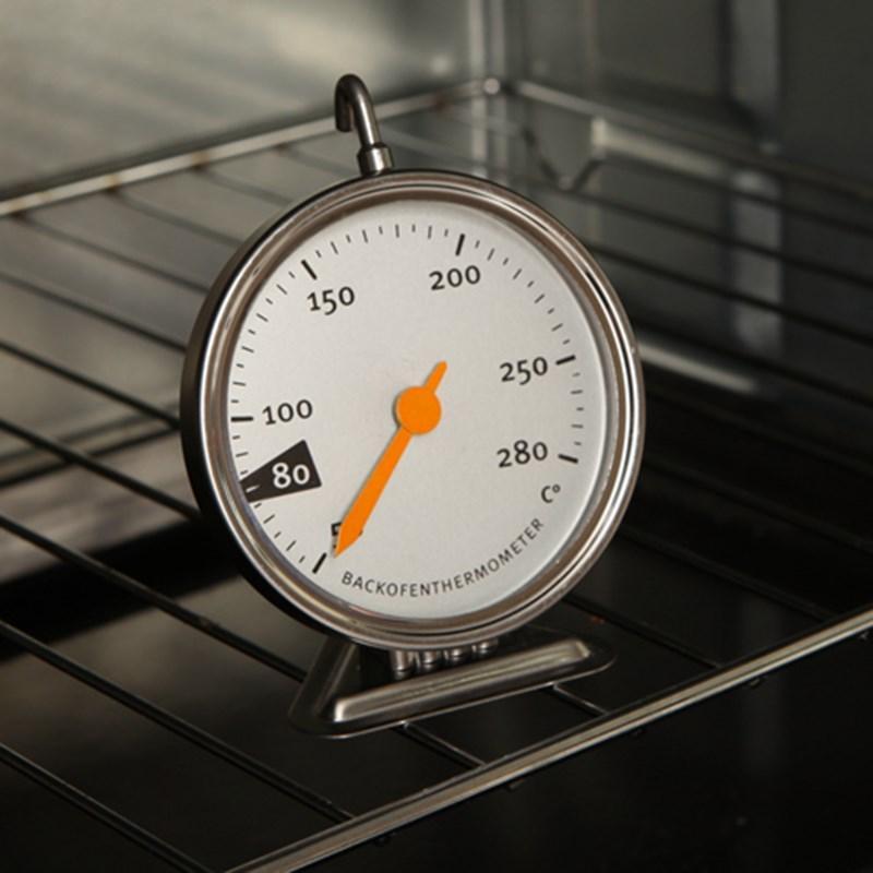 Vente en gros Cuisine Four électrique Thermomètre inoxydable de cuisson en acier Four Thermomètre spécial Outils de cuisson 50-280 ° C # 36846