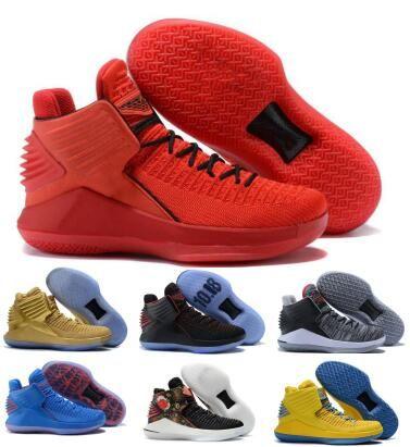 Volo 32 32s pattini di pallacanestro per gli uomini Mens Red Capodanno cinese Finale Jumpman XXXII alta qualità 2020 nuovi cestini Pattini degli addestratori delle scarpe da tennis