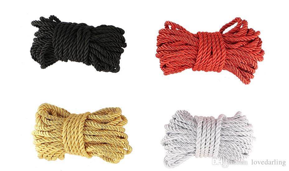 SM VENDENDO !!! 10 metros de comprimento Sexo Hot algodão Bondage para contenção forte corda grossa adulto jogo brinquedos sexy fetiche casais xxqhv
