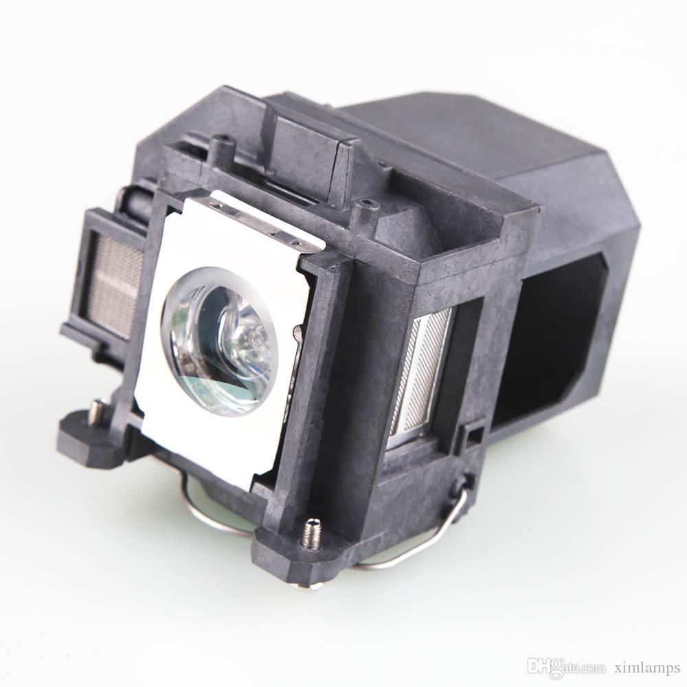 Free Shipping ELPLP57 Projector Lamp Bulb with Housing for Epson BrightLink 450Wi BrightLink 455Wi BrightLink 455WI-T Replacement Bulbs