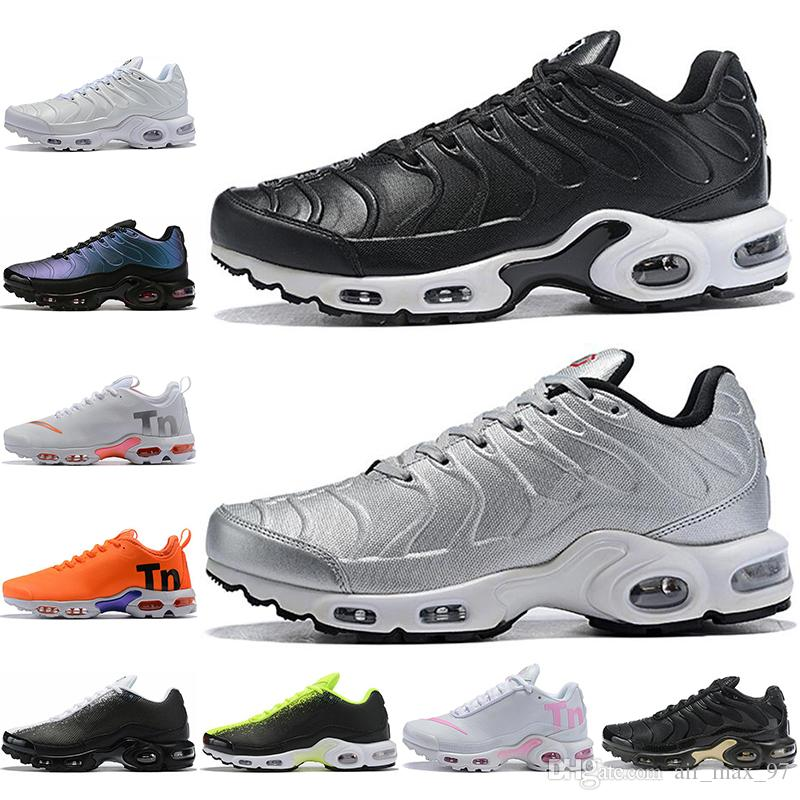 Nike tn plus Con calcetines Luxury Tn Plus Hombres Mujeres Zapatos para correr Negro Blanco Gris Air Ultra Sports Shoes TN Requin Casual Designer Sneakers Mens Trainers