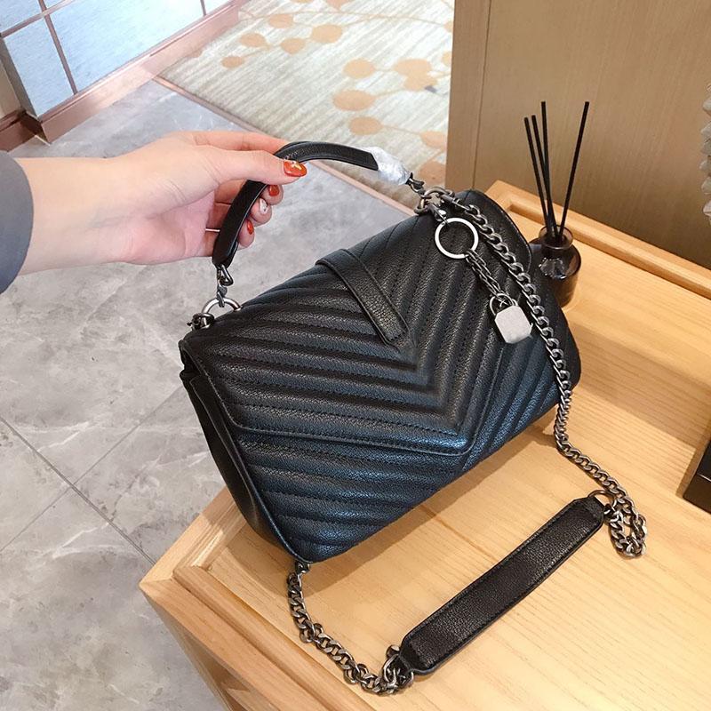 Luxo Designer Classical Bolsas mulher de alta qualidade cores tiracolo feminina embreagem bolsa de lona Messenger Bag Tote 24 centímetros