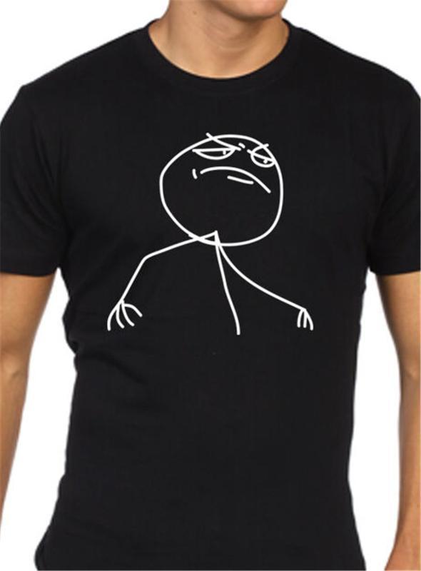 Meme Troll T shirt divertente Mens superiore Tee Shirt