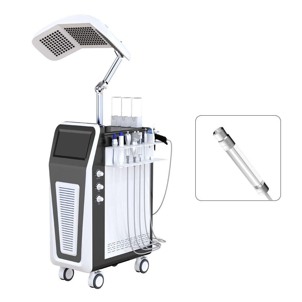 Stationäres Wasser Aqua Peeling 90kpa Vakuumabsaugung für Skin Spa Schönheit der Schönheitsmaschine mit hohem Jet-Peeling