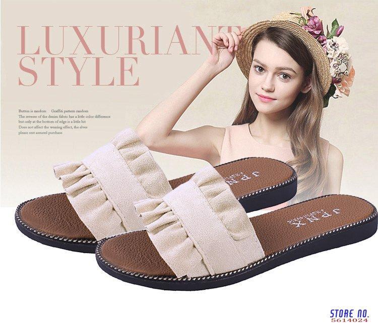 Neue beiläufige Slipper Solid Color Indoor Outdoor Womens Slippers Schuhe Mujer Damen Slip On Sliders