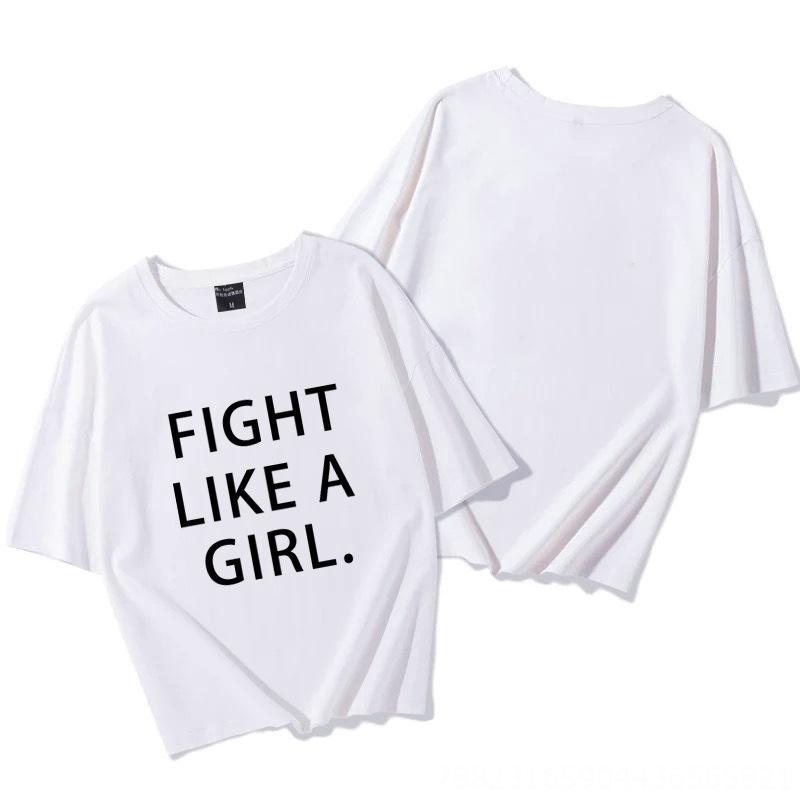2020 hip-hop in di strada Coat T-shirt tendenza top da donna inglese lettera stampata T-shirt in cotone grandi dimensioni superiore allentata delle donne