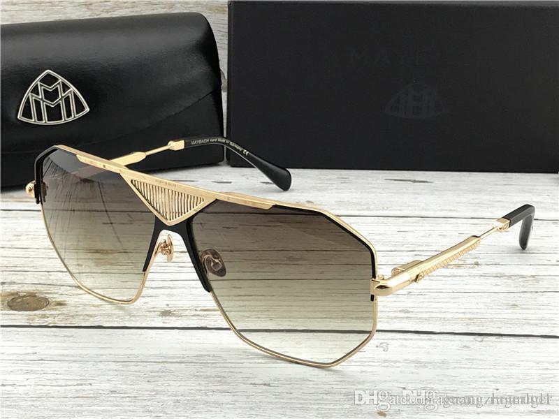 Top luxe K lunettes concepteur marque voiture de lunettes hommes d'or de mode haut en plein air UV400 lunettes de soleil G-ABM-Z20