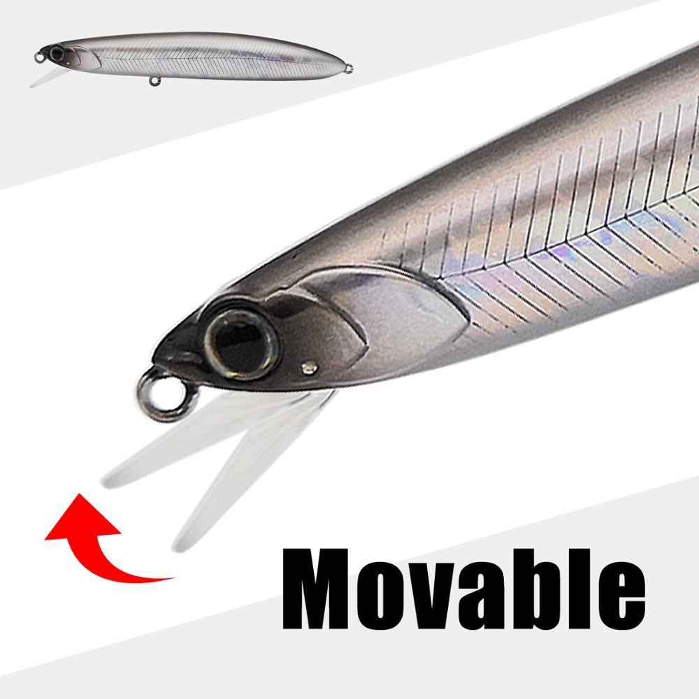2020 New Mobile lip Raptor Glide Minnow Bait Hound 110mm 17.5g/18.5g Full Weight Shift System crank wobbler Fishing Lures T200629