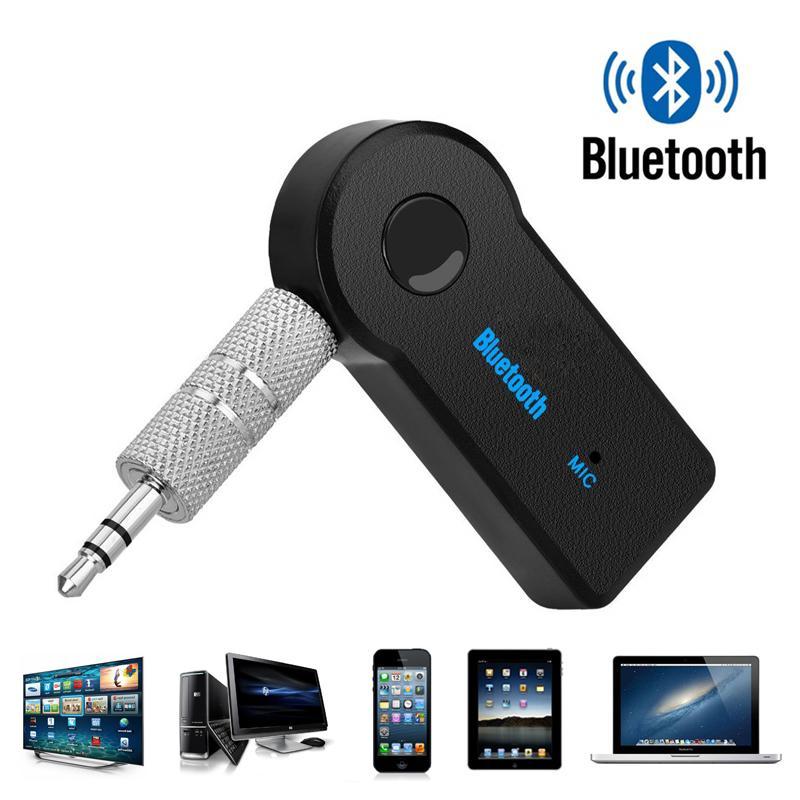 Drahtloser Bluetooth-Empfänger-Sender-Adapter 3.5mm-Buchse für Automusik Audio aux Kopfhörer Reciever Freisprecheinrichtung