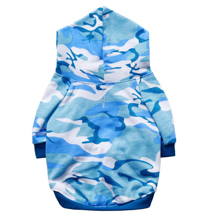 XU0318 hot 2019 A Camouflage Dog Clothes Spring Sweatshirt Pets Dog Clothing for Small Dogs Winter Puppy Coat Yorkie Chihuahua Apparel
