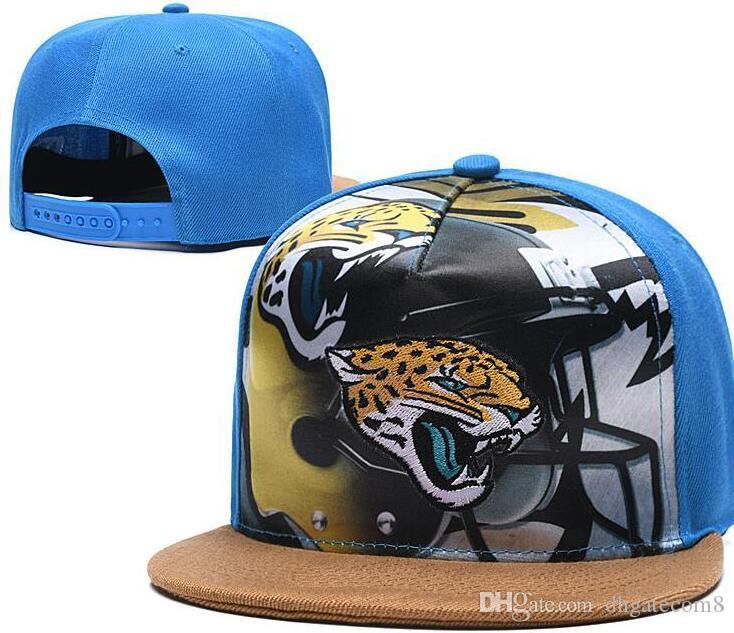 Snapback Caps economico Donne Uomo JAX Jacksonville cappello Snapback osso squadra di baseball Cap ricamato formato Visiera cappelli da baseball Cap 01